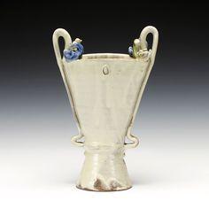 Schaller Gallery | Shawn Ireland | Trophy Vase with Birds