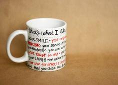 DIY Sharpie Mug ... Maybe write things the student thinks of the teacher