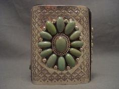 "Museum Vintage Navajo """"Dome"""" Royston Turquoise Silver Ketoh Bracelet | eBay"