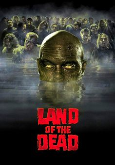 Land Of The Dead Horror Movie Zombies Zombie Movies, Sci Fi Movies, Scary Movies, Ghost Movies, Horror Movie Posters, Cinema Posters, George Romero, Gugu, Horror Films