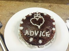Advice cake!