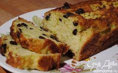 Кабачковый кекс с изюмом | Кулинарные рецепты от «Едим дома!»