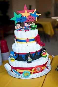 superheroes baby shower | Super Hero Baby Shower