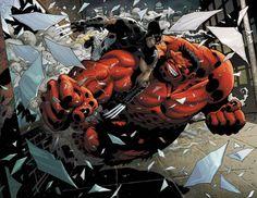 Rulk vs Wolverine