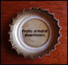 July 8: Fun - Photo by @ErikaBTV on Twitter - #Fun advice from @magichat. Tempting, but not tonight. #July #VPTJulyPix