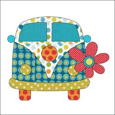 Preview love bus   pattern