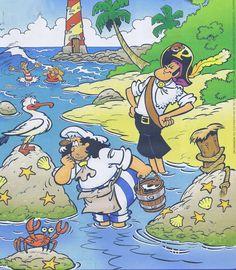 Piraten praatplaat