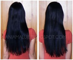 long black hair