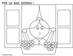 disegno per la nonna