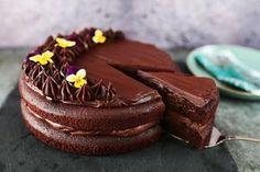 A tökéletes szaftos, csupa csoki torta Cake Cookies, Baked Goods, Oreo, Cheesecake, Muffin, Food And Drink, Baking, Breakfast, Sweet