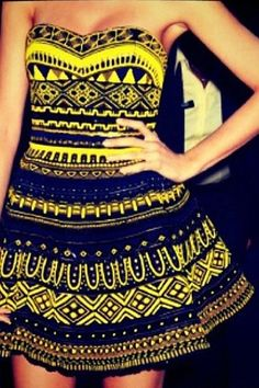 Tribal Dress.