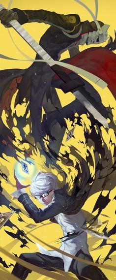 Character: Yuu Narukami Anime: Persona 4
