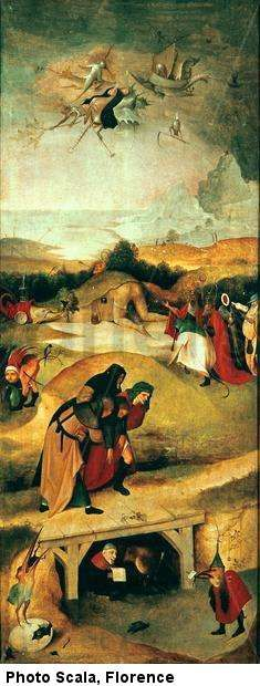 Triptych of the Temptations of Saint Anthony > Hieronymus Bosch