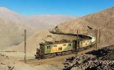 The Breathtaking Geography of Chile's Maria Elena to Tocopilla Railway
