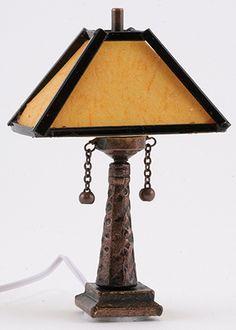 Dollhouse Lights, Tiffany Style Table Lamps, Dollhouse Miniatures, Lighting, Design, Home Decor, Decoration Home, Room Decor, Doll House Miniatures