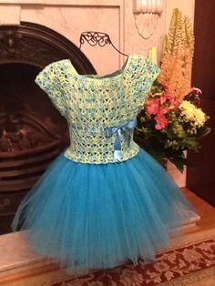 Bluebell flower fairy dress!