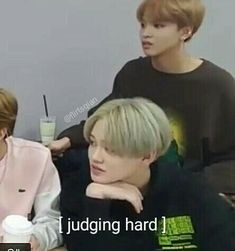 That's what I call silently judging Meme Faces, Funny Faces, K Pop, Text Memes, All The Things Meme, Weird Things, Funny Kpop Memes, Reaction Pictures, Derp