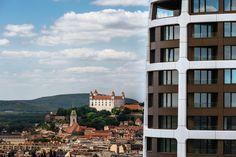 Bratislava, Multi Story Building