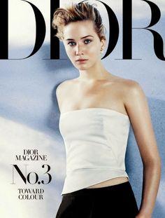 Diễn viên Jennifer Lawrence trong bộ ảnh thời trang của Dior - ELLE.vn