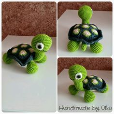 Handmade by Ülkü: Amigurumi Schildkröte / Turtle / Kaplumbağa
