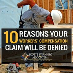 Workers' compensation is a type of insurance your employer is legally required to carry. And, while you may have been injured on the job, you find your insurance claims denied.