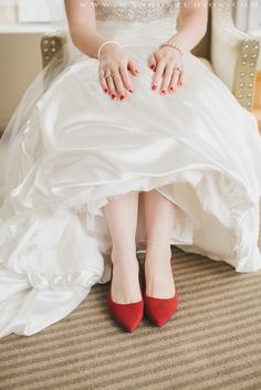 The red shoes!!!