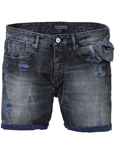 Ralston Plus short - Summer Rock Denim Shorts Men Clothing at Scotch   Soda bb85f46935