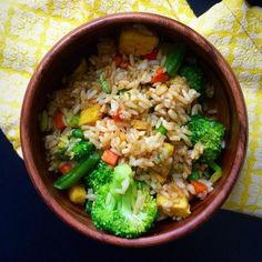 This fried rice comes together in under 10 minutes for a quick and easy single-serving meal that is vegan and gluten free!