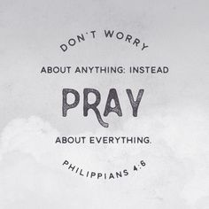 Don't worry about anything. Instead pray about everything. Philippians Click the picture for more beautiful, ready to frame Bible verse prints. Godly Quotes, Bible Verses Quotes, Bible Scriptures, Faith Quotes, Inspiring Bible Verses, Prayer Quotes, Encouraging Verses, Niv Bible, Prayer Verses