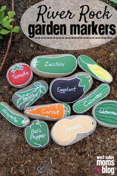 Rock Craft Ideas - The Idea Room #gardeningdiy
