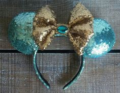 Princess Jasmine Inspired Ears by EverAfterByPatti on Etsy https://www.etsy.com/ca/listing/285613345/princess-jasmine-inspired-ears