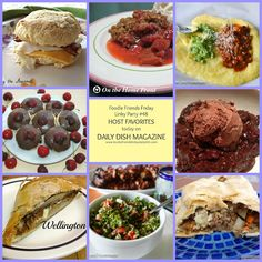 We hope you all had a wonderful Father's Day and enjoyed our special Foodie Friends Friday party with delicious treats and recipes just for DAD. We had fun choosing our Host Favorites!~Daily Dish with Foodie Friends Friday