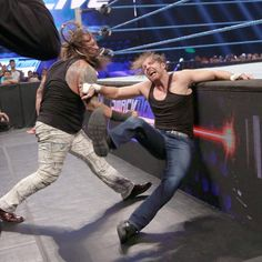 Dean Ambrose & Dolph Ziggler vs. Bray Wyatt & Erick Rowan