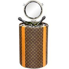 **'Porthole' Champagne cooler by Louis Vuitton, Paris. 1970.