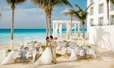 Modern Destination Weddings: Le Blanc Spa Resort