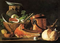 SANCHEZ COTAN Juan Still life Quince cabbage Melon Cucumber quadro dipinto olio