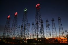Kilgore, Texas...oil boom..I think it's beautiful! Brings back smiles of childhood when going there.