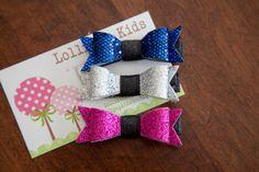 Kids Hair Clips Toddler Hair Clip Baby Glitter hair bow