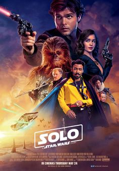 Solo: A Star Wars Story -- Alden Ehrenreich, Joonas Suotamo, Emilia Clarke, Woody Harrelson, Donald Glover Hd Movies Online, 2018 Movies, New Movies, Movies To Watch, Hindi Movies, Film Online, Movies Free, Telugu Movies, Paul Bettany