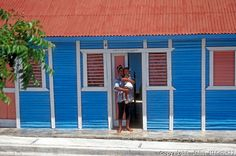 dominican republic colorful houses - Google Search
