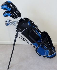 Boys Junior Golf Club Set with Stand Bag for Kids Ages 8-12 Jr. Right Handed Premium Professional Quality Equipment at http://suliaszone.com/boys-junior-golf-club-set-with-stand-bag-for-kids-ages-8-12-jr-right-handed-premium-professional-quality-equipment/