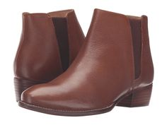 Seychelles Wake Whiskey Leather Bootie - Holly & Brooks #shophollyandbrooks #seychelles #boots #ankleboots