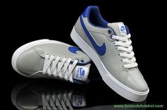 loja futebol Masculino Cinza Branco Azul Nike Court Tour 1972 458673-044