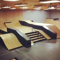 Risultati immagini per indoor skateboard park Halle, Box Architecture, Barn Shop, Tech Deck, Skateboard Decks, Skate Park, Outdoor Furniture, Outdoor Decor, Future House