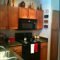 Kitchen - Black Appliances