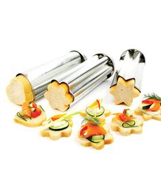 Take a look at this Canape Bread Mold Set by Norpro on #zulily today!