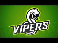 Illustrator Tutorial - Team Logo Creation (E-Sports/Sports) - YouTube