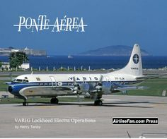 From the mid 1970s until early 1992, VARIG Airlines operated a fleet of Lockheed L-188 Electras on the Ponte Aerea Air Bridge connecting Rio's Santos Dumont Airport with Sao Paulo's Congonhas airport. This all colour photo 60-page book presents an interesting look at this operation through the camera lens of Vancouver-based aviation photographer and aviation journalist Henry Tenby. A must have library addition for any true, red-blooded propliner enthusiast.