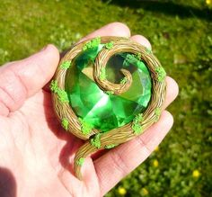 Legend Of Zelda Kokiri Emerald this is the most beautiful one I have seen ever!