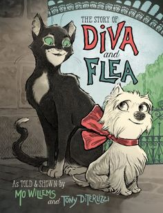 Read The Story of Diva and Flea children book by Mo Willems . Diva, a small yet brave dog, and Flea, a curious streetwise cat, develop an unexpected friendship in this unforgettable Mo Willems, New Books, Good Books, Knuffle Bunny, Unexpected Friendship, Theodor Seuss Geisel, Unlikely Friends, Thing 1, Preschool Books